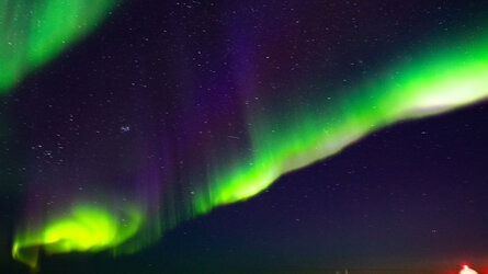 Shimmering skies signal space weather