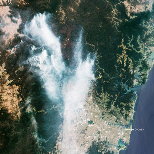 Smoke in New South Wales