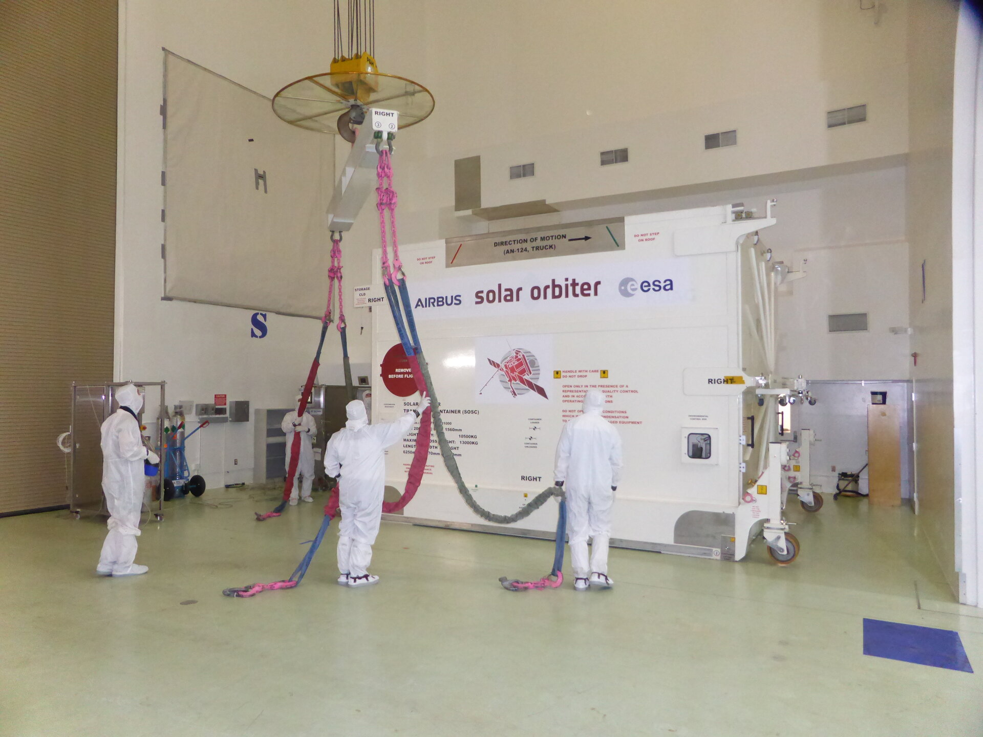 Solar Orbiter launch campaign begins