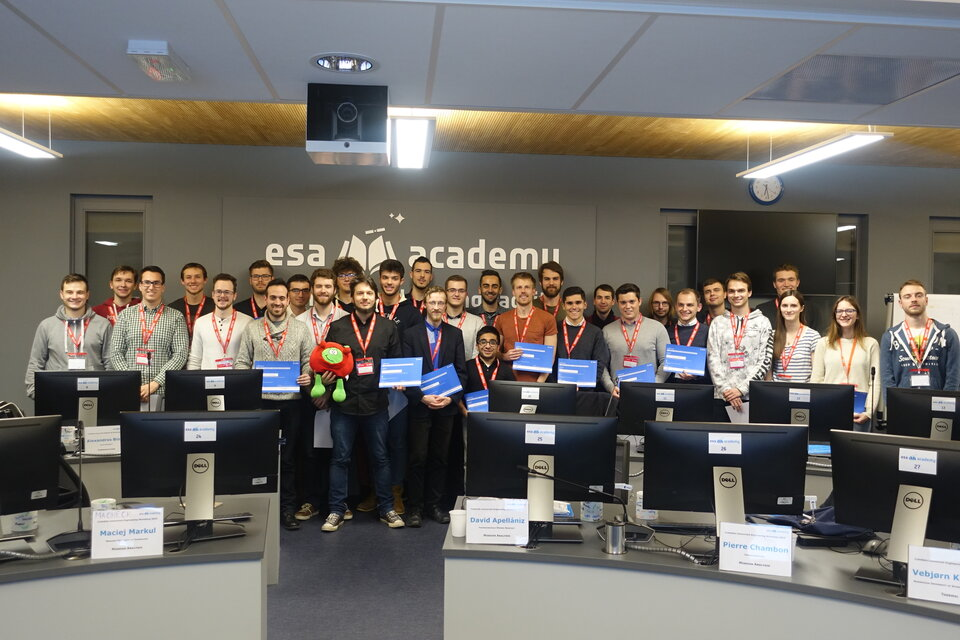 Student group of the CubeSats Concurrent Engineering Workshop 2019
