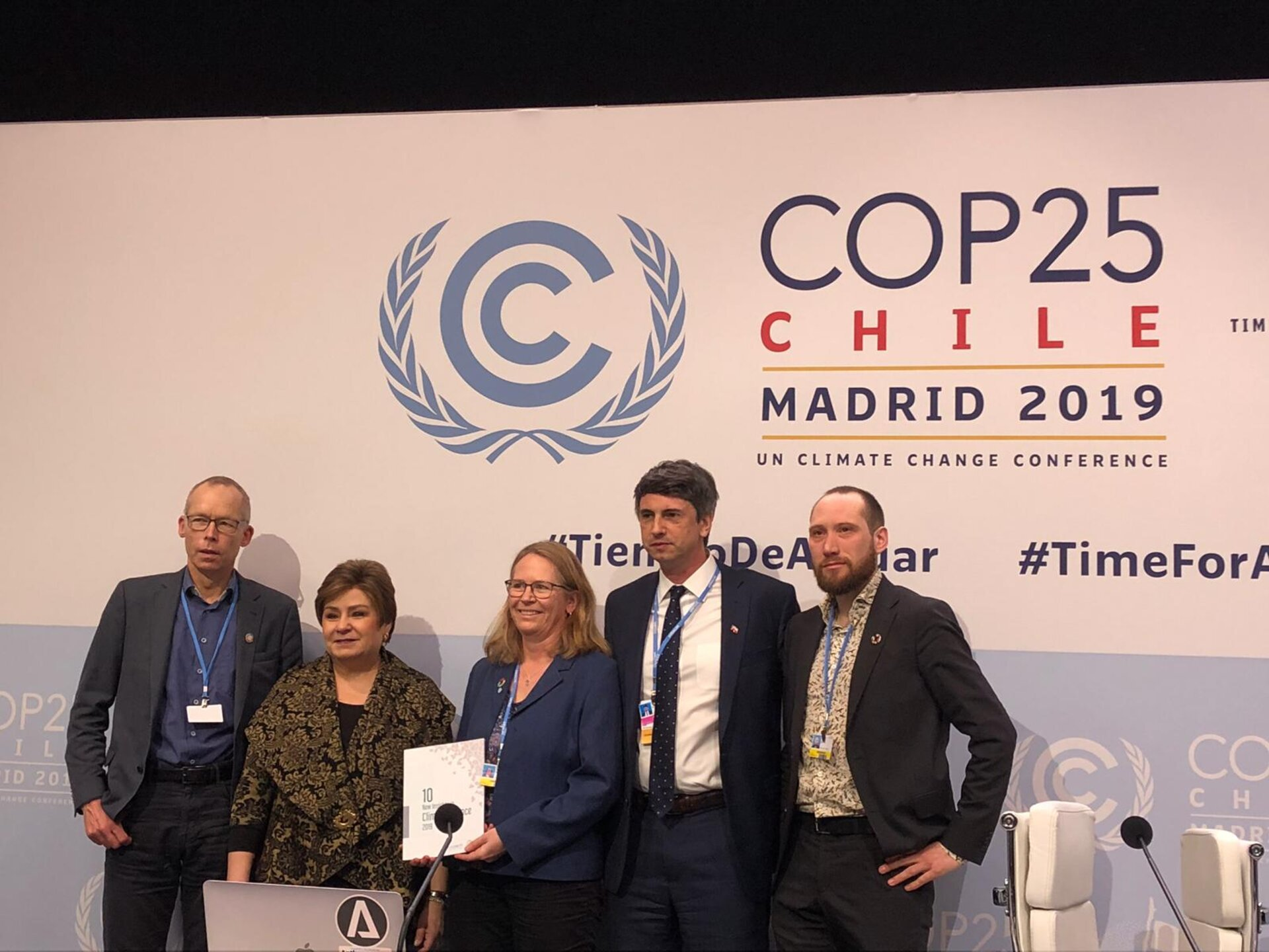 10 New Insights in Climate Science report at COP25