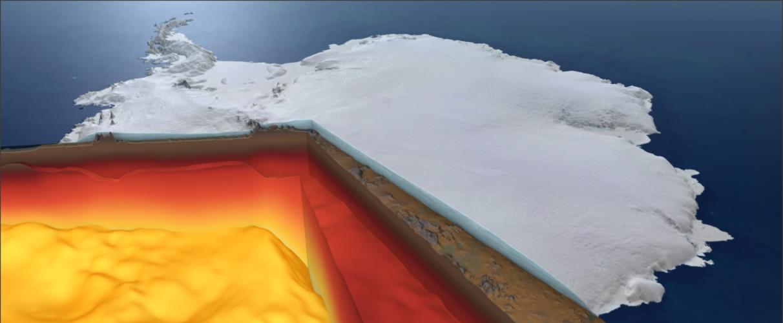 Antarctica: below the surface