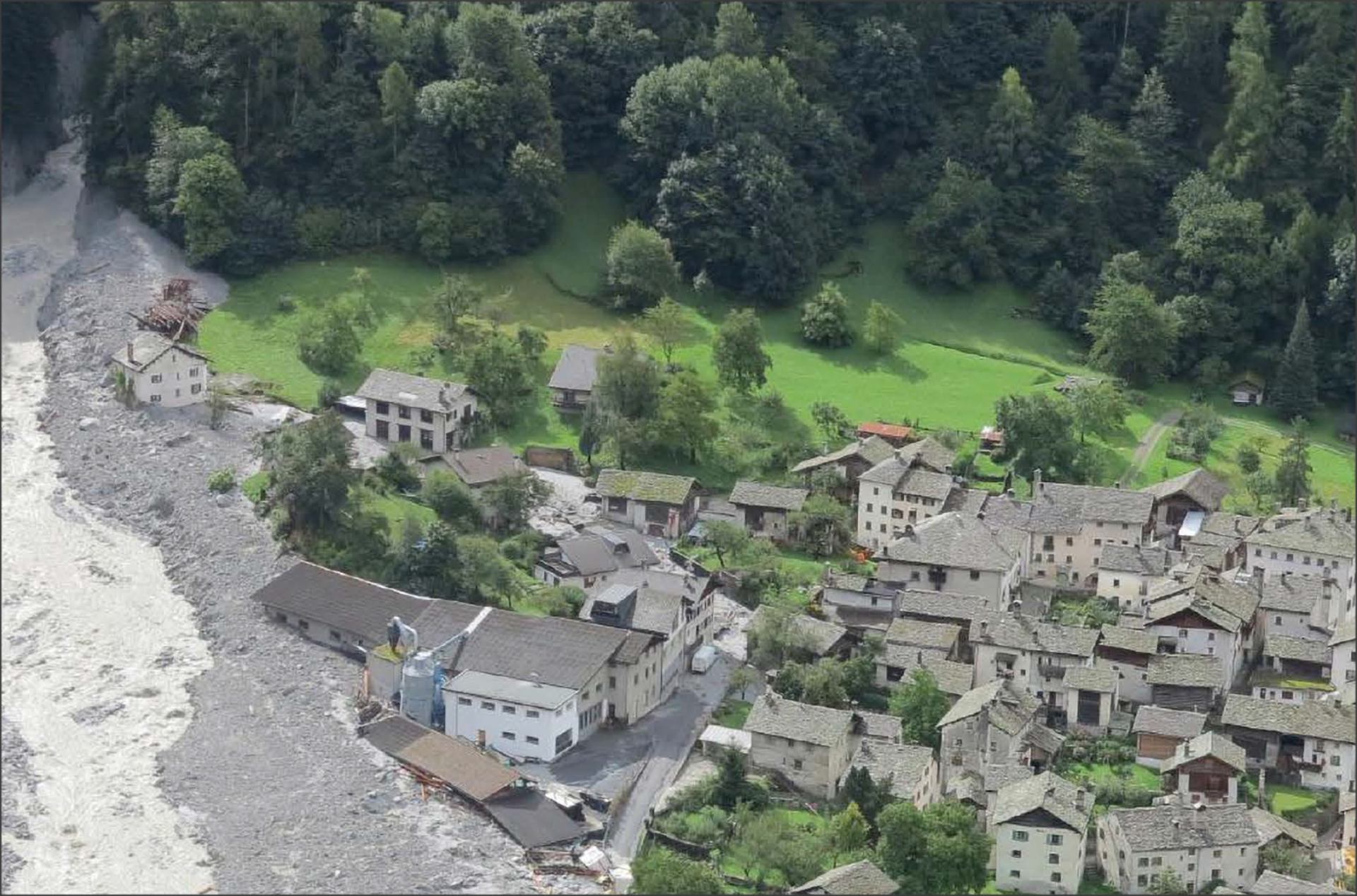 Bondo landslides, Switzerland