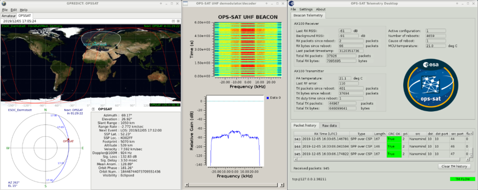 Decoding OPS-SAT's beacon