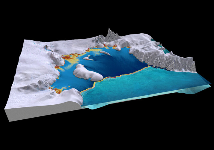 Filchner-Ronne ice shelf