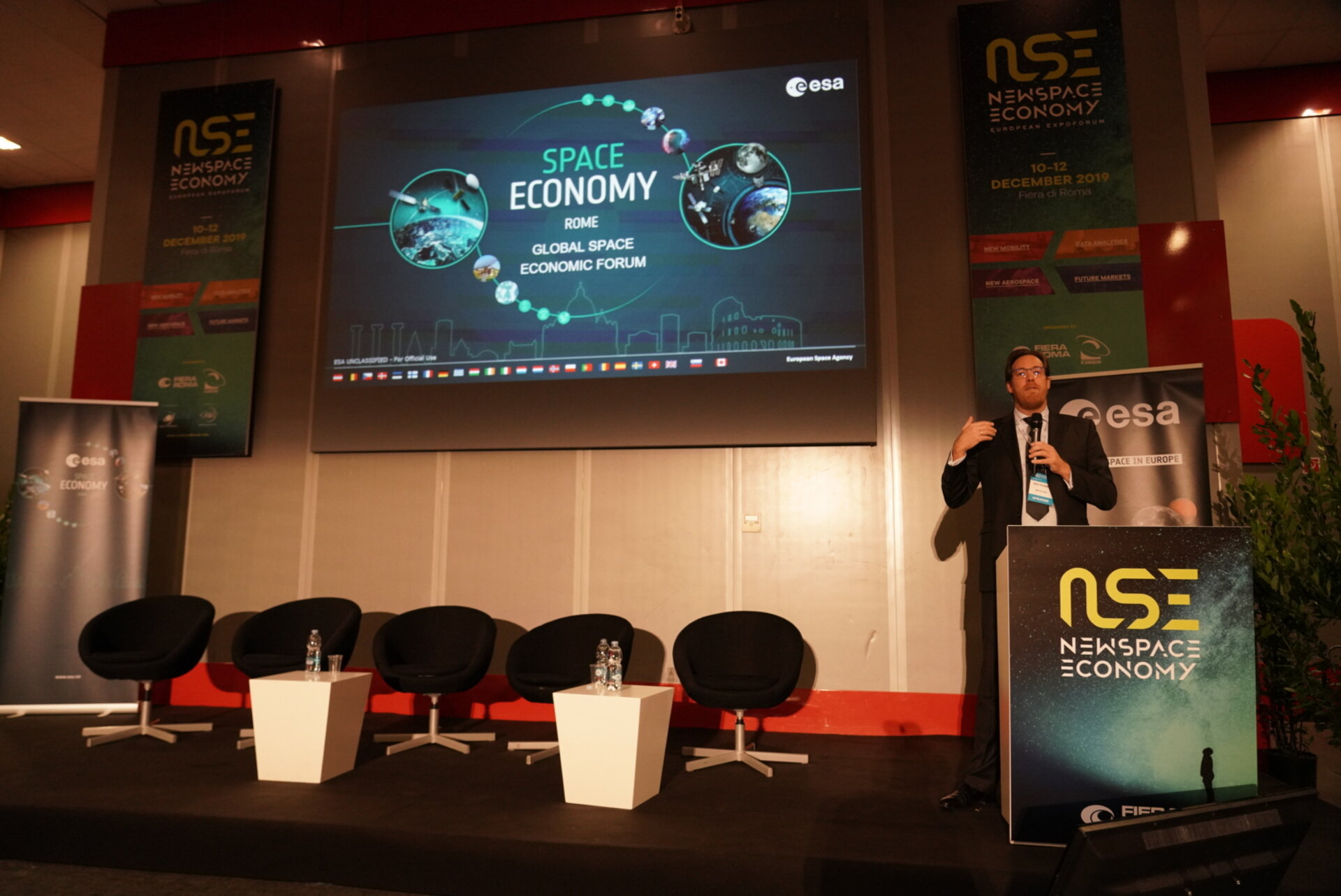 Ray Power, CEO at Metalysis, presented at the Global Space Economic Forum