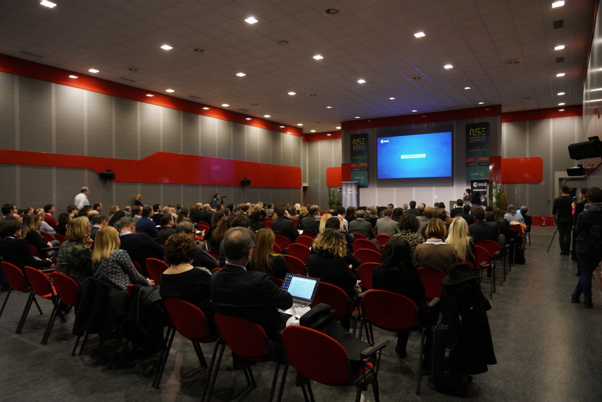 A Global Space Economic Forum was held at the New Space Economy European Expoforum