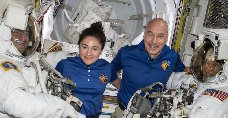Watch live: Nobel Prize laureates call to Space Station