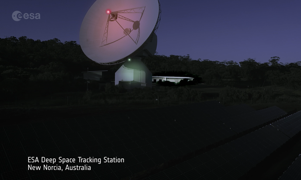 New Norcia Deep Space Tracking Station