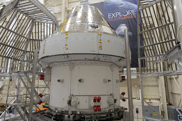 Orion preparing for thermal tests