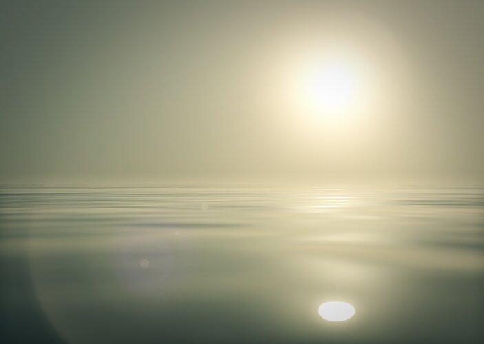Warming seas