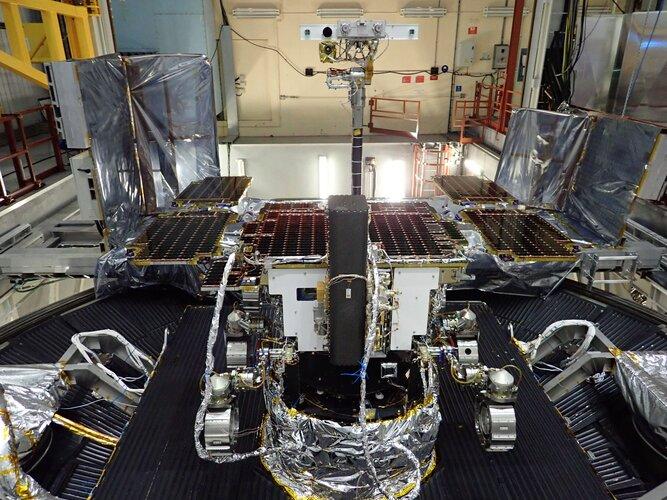 ExoMars Rover schließt Umgebungstests ab