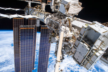 Intricate International Space Station