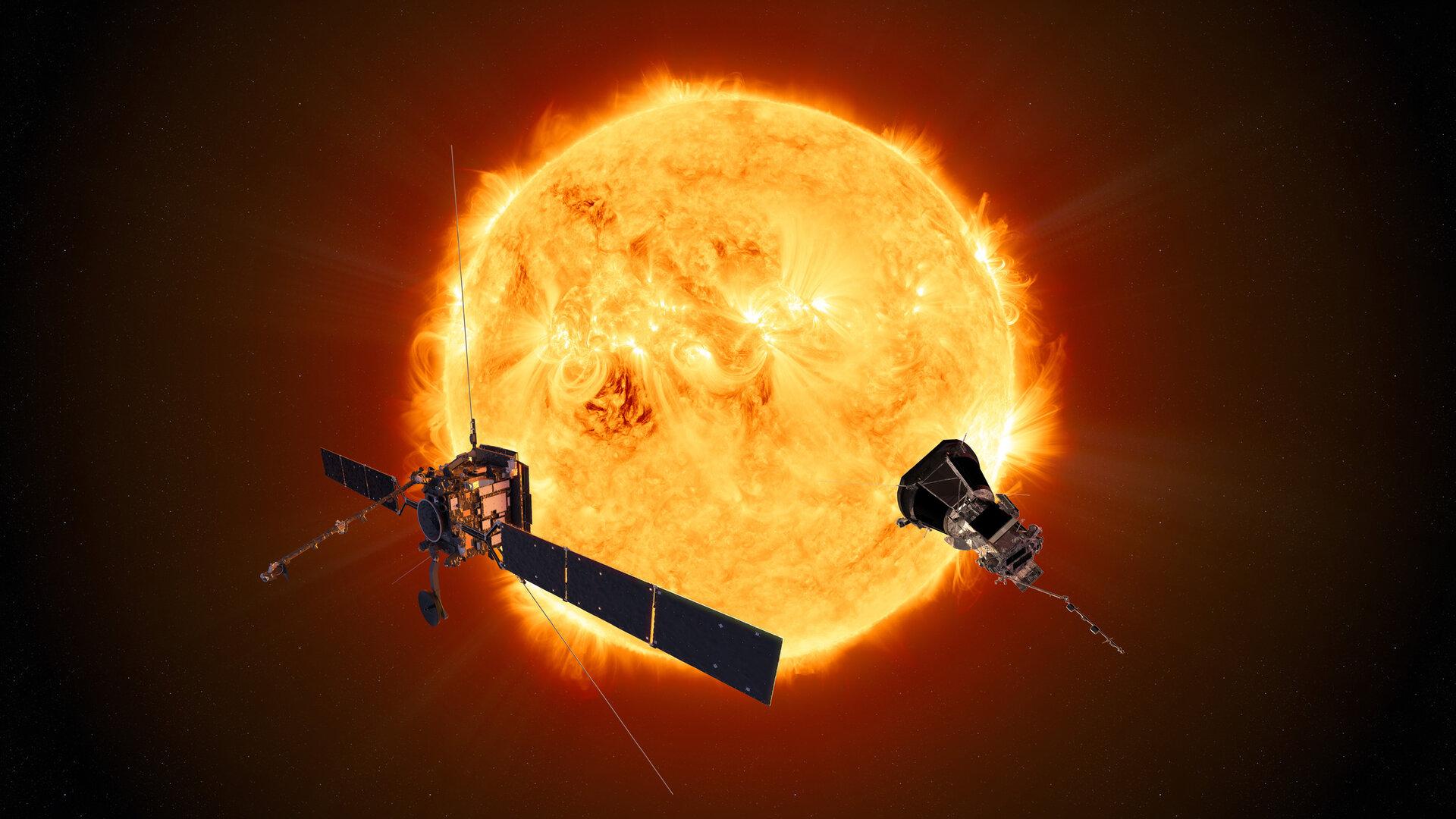 Solar Orbiter e Parker Solar Probe