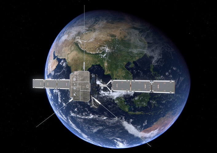 Solar Orbiter antenna deployment
