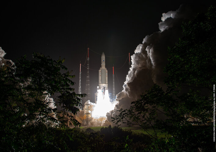 Ariane 5's second launch of 2020