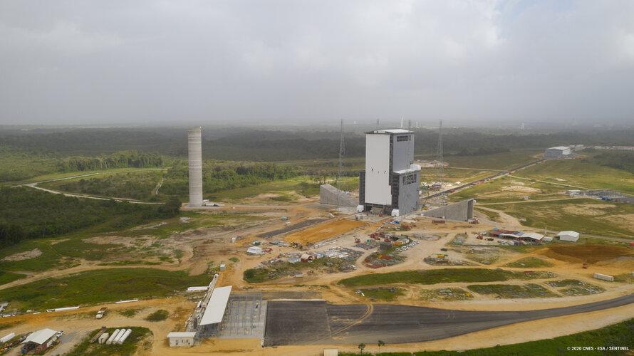 Ariane 6 launch zone at Europe's Spaceport
