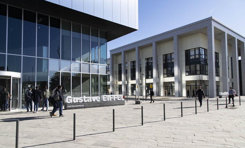 Le Campus de CentraleSupélec à Paris-Saclay