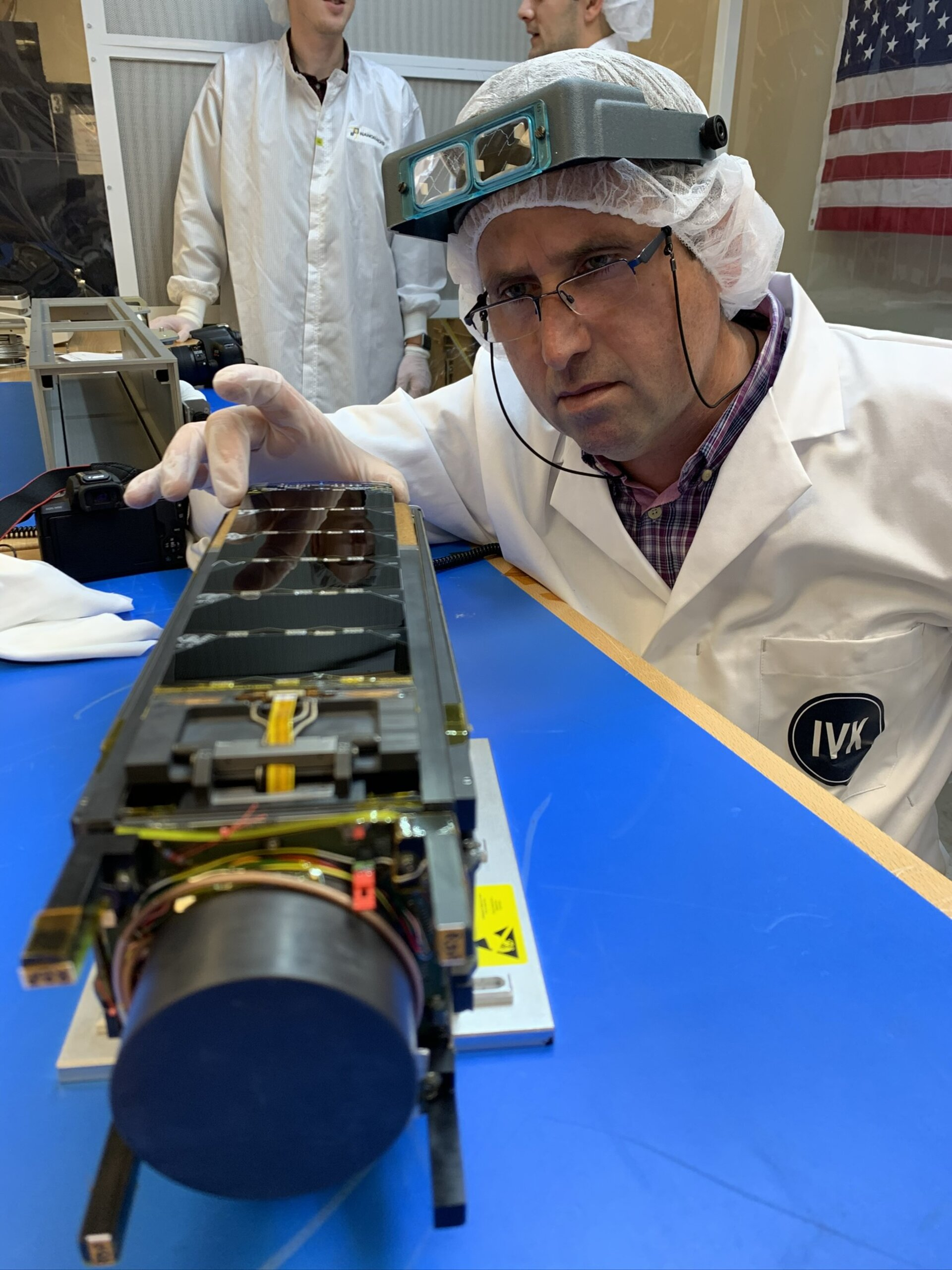 Qarman prepared for launch to ISS