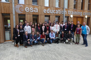 Students and experts of Clean Space Training Course 2020