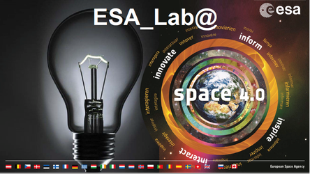 ESA_Lab@ initiative is a hub for disruptive innovation and cross-fertilisation.