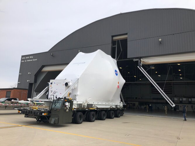 Artemis 1 Orion spacecraft leaves Ohio