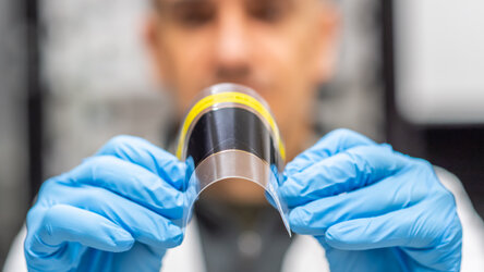 Bendy, ultra-thin solar cell