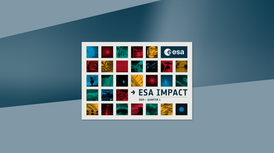 Read about ESA's activities in this interactive publication