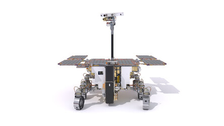 ExoMars rover: front view