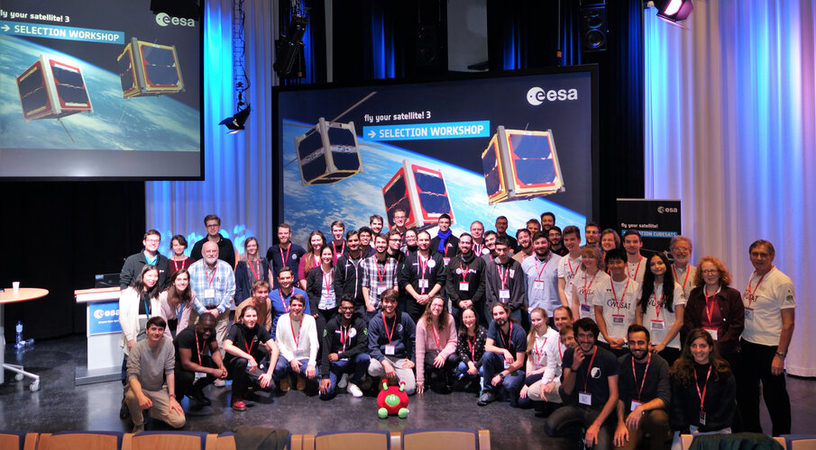 Fly Your Satellite! Selection Workshop