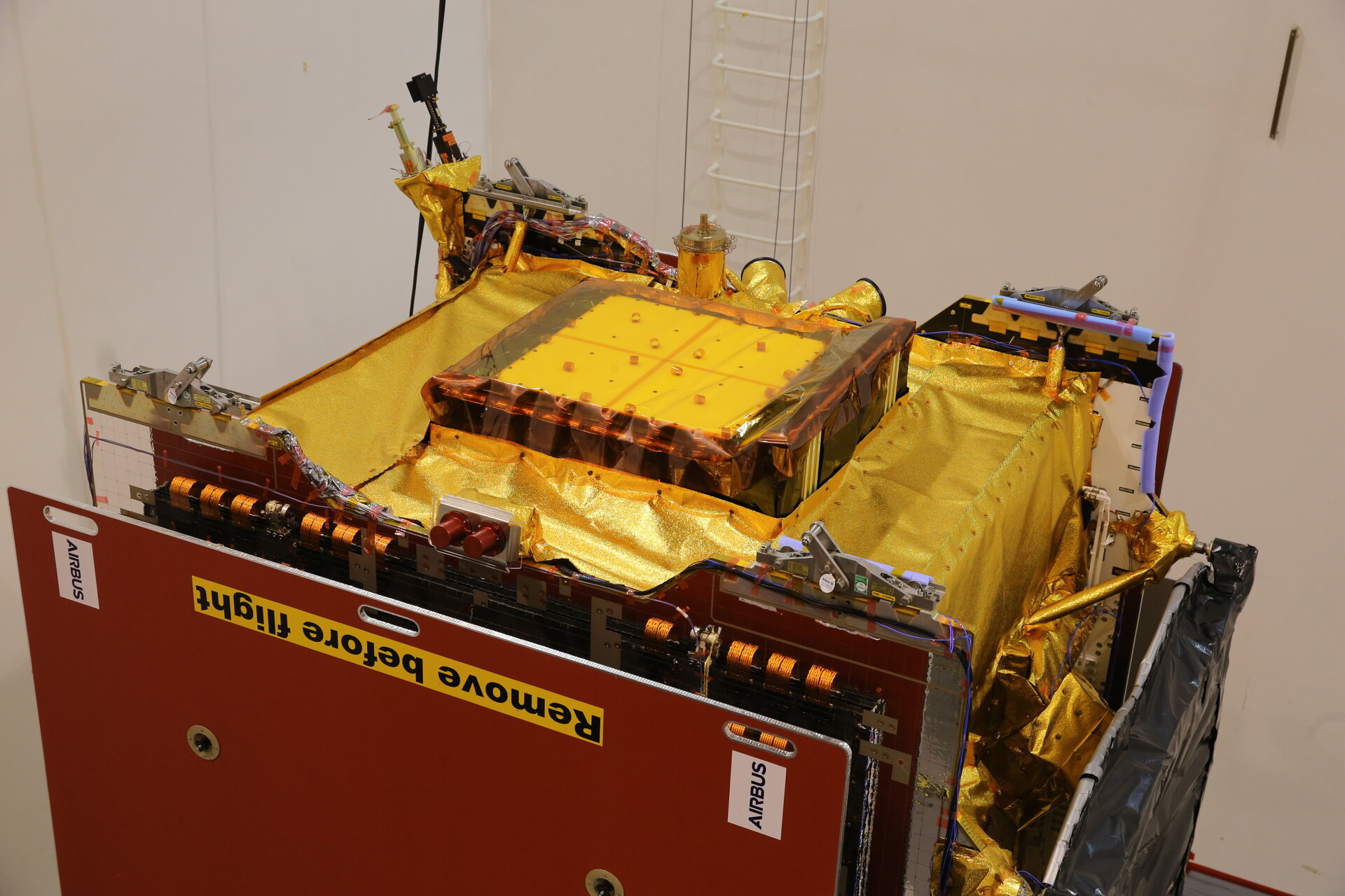 Quantum satellite completes vibration tests