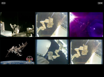 Bartolomeo's robotic removal from the SpaceX Dragon