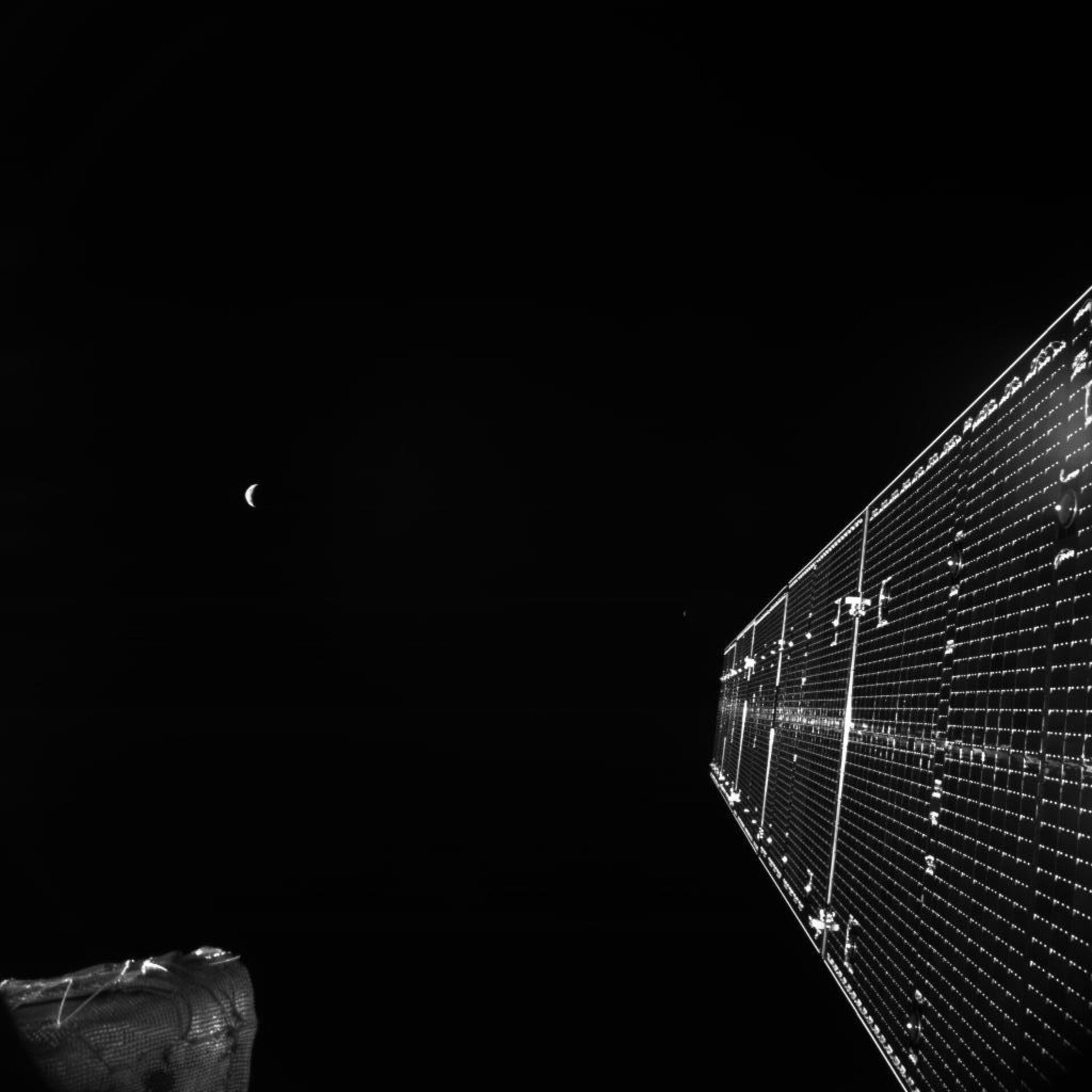 BepiColombo bids farewell to Earth and the Moon