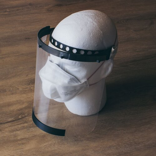 3D printed face shields