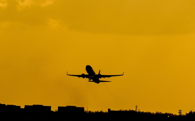 Fewer flights mean fewer atmospheric measurements