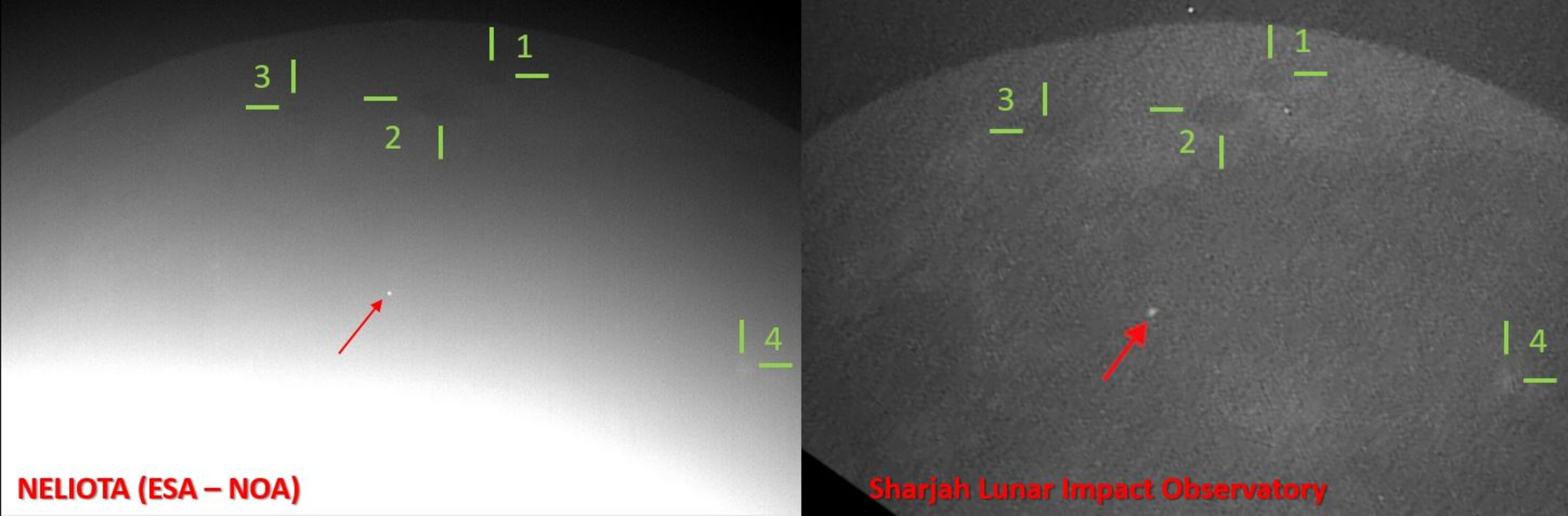First joint-detection of lunar flash