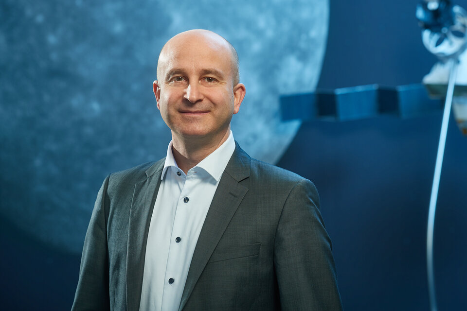 Holger Krag, Head of ESA's Space Safety programme
