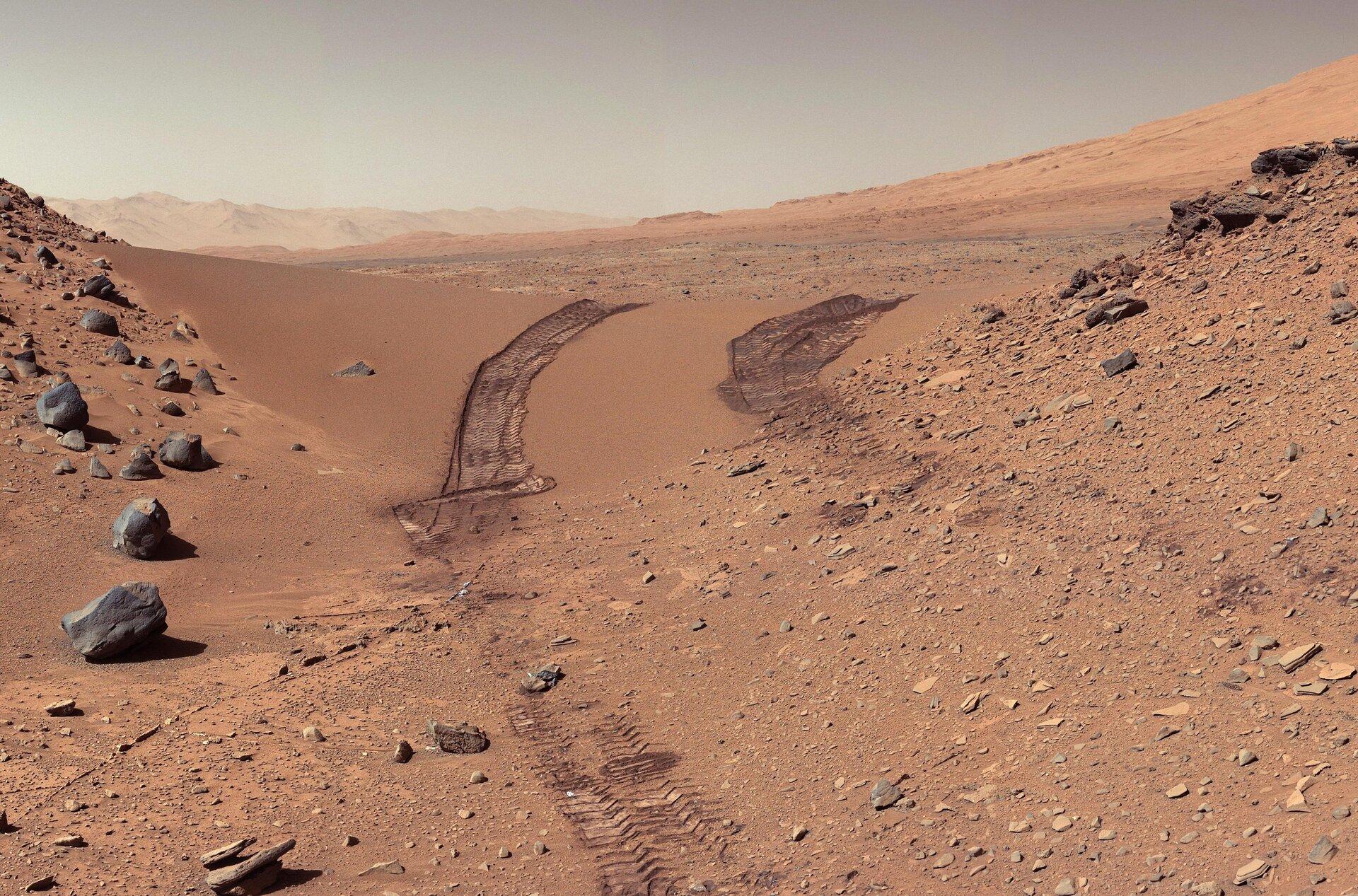 ESA - Mars landscape