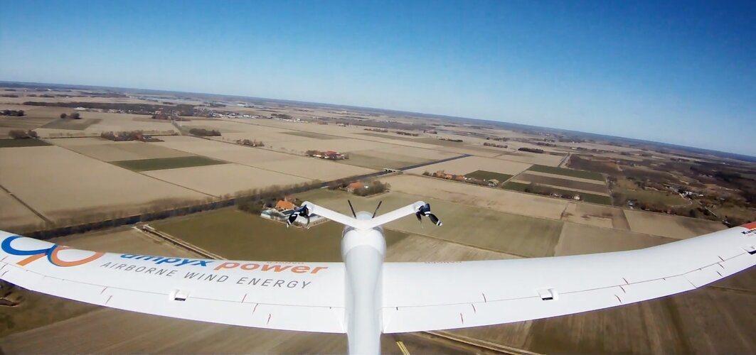 Steering drones for power generation