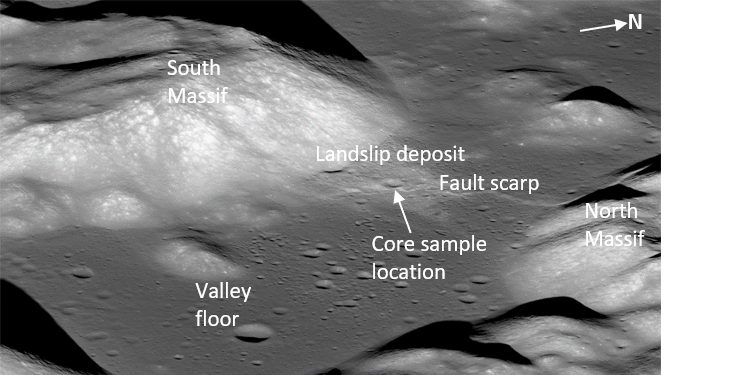The Apollo 17 region
