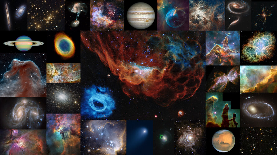 Thirty years of Hubble Space Telescope