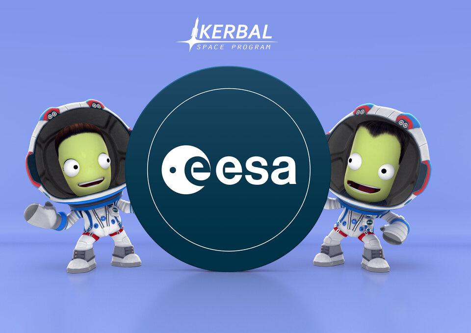 Lancio della partnership Kerbal ed ESA