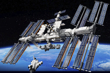LEGO Ideas International Space Station model kit