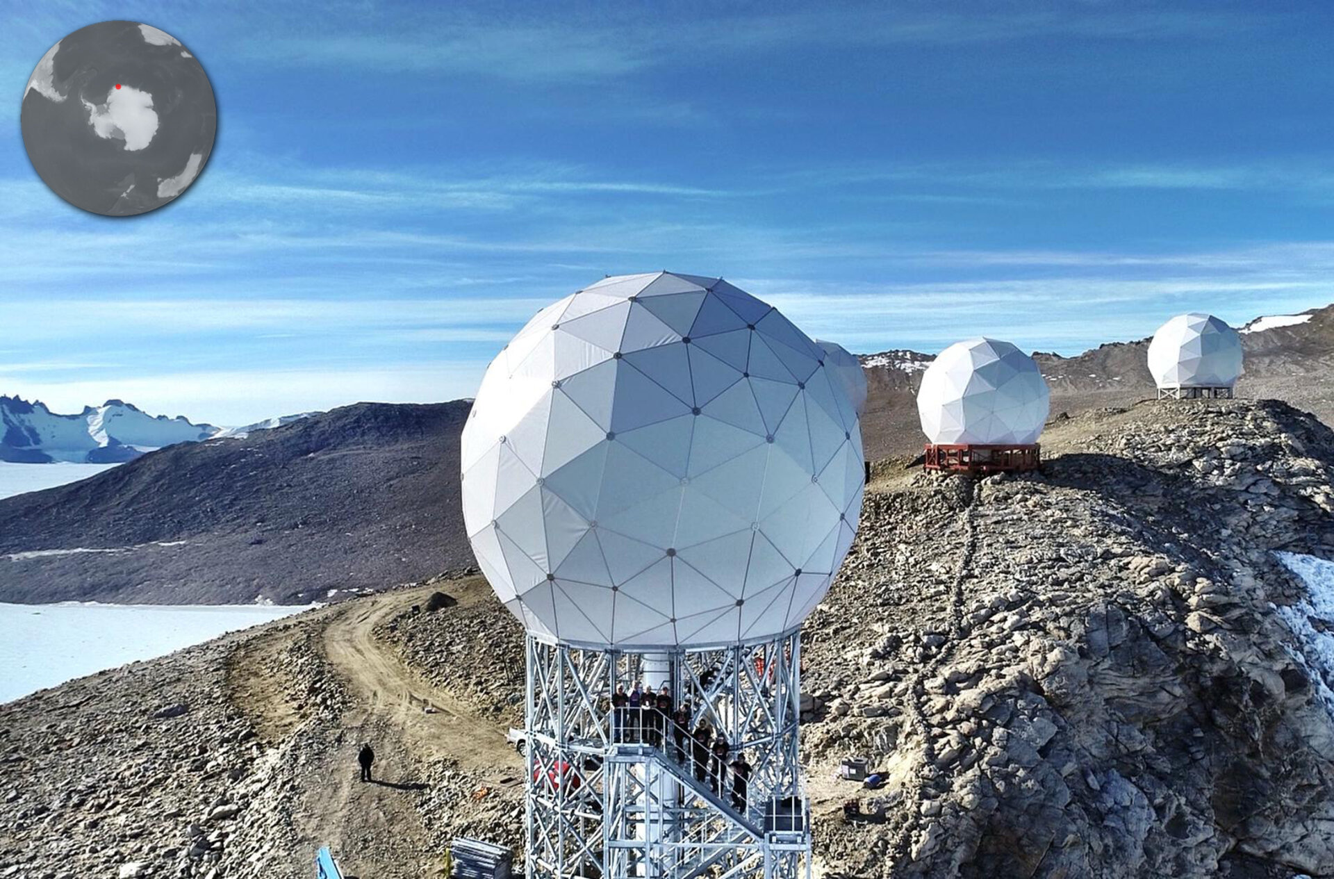 New Antarctic ground station for Aeolus increases data flow