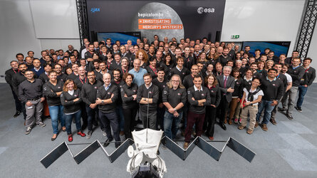 After years of planning and countless hours of simulations, mission teams at ESA's control centre in Germany are ready to take flight on the long and complex journey to Mercury