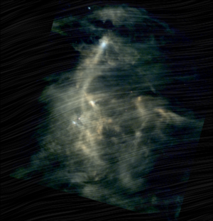Chamaeleon I molecular cloud viewed by Herschel and Planck