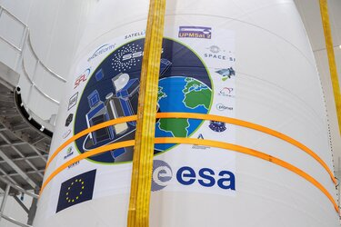 Vega's new Small Spacecraft Mission Service (SSMS) dispenser will release 53 satellites on Europe's first rideshare flight VV16, dedicated to light satellites.