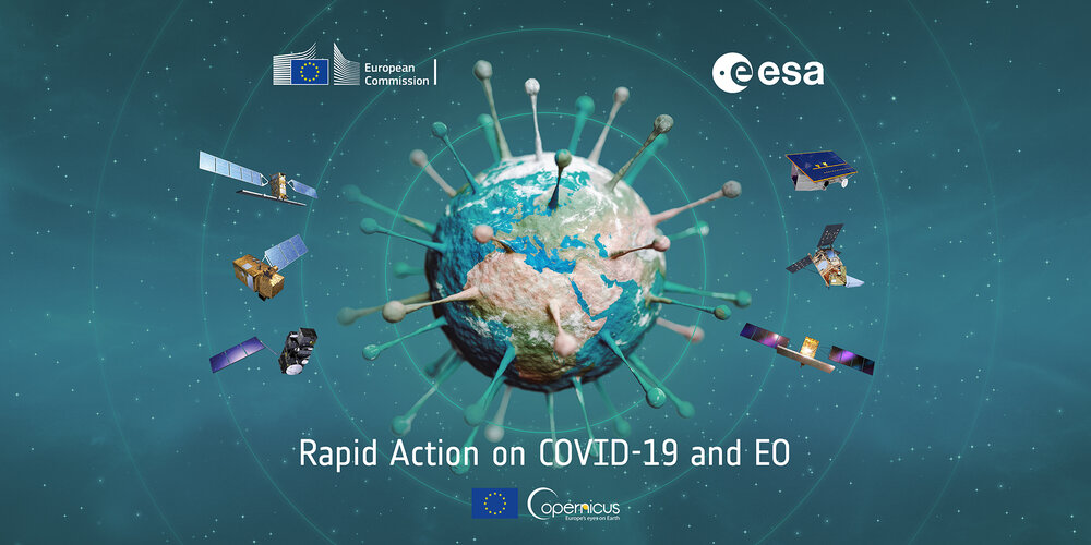 Rapid Action on COVID-19 and Earth observation