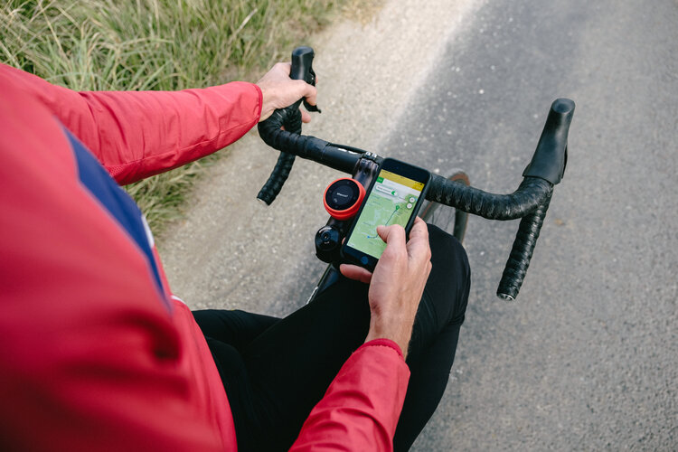 Cyclists can use the app to identify the best route and give directions