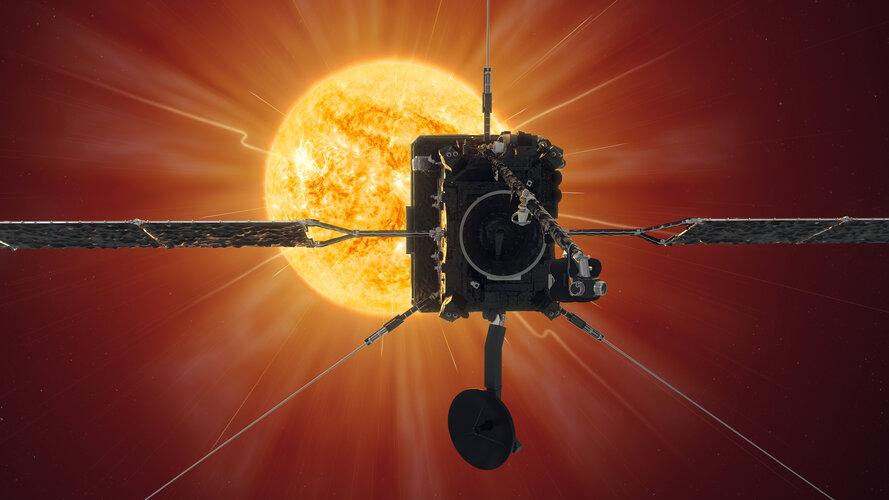 Solar Orbiter nähert sich erstmals der Sonne